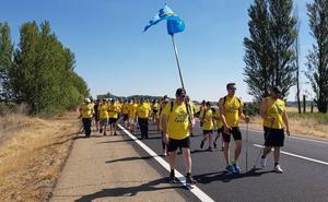 La 'Marcha del Aluminio' deja atrás la provincia con la lucha por el futuro en Alcoa como bandera
