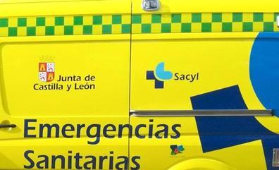Un herido en el vuelco de un turismo en el cruce de Villaobispo en la LE-20