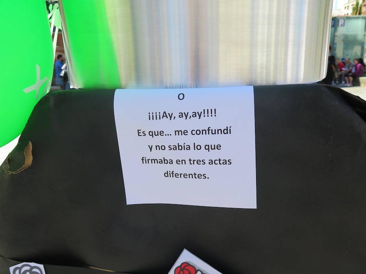Vox denuncia en Botines el 'pucherazo' electoral en las municipales