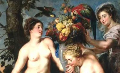 El cuadro 'Ceres y dos ninfas' de Rubens y Snyders llegará el lunes al Museo de León