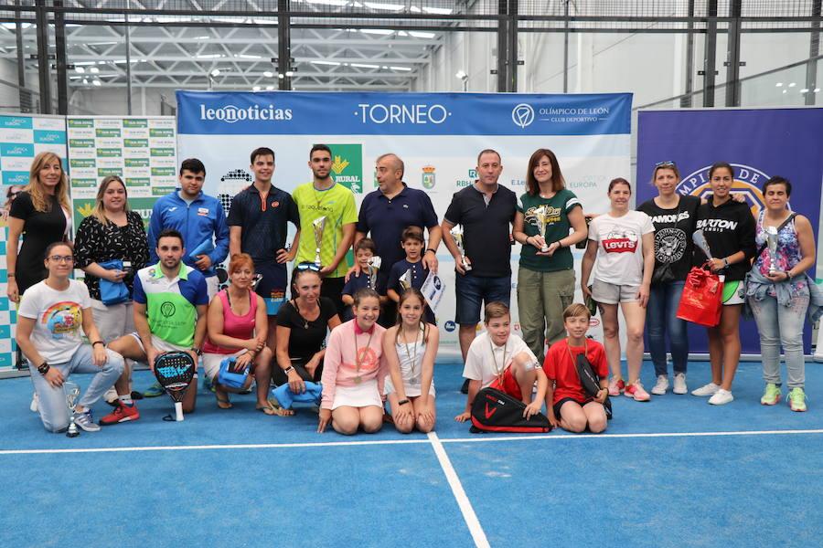 Entrega de premios en el Olímpico de León