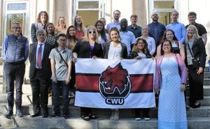 Alumnos de la Universidad de Washington estudian ciberseguridad en la ULE