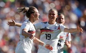 Alemania saca la apisonadora