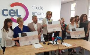 Las empresarias del CEL donan 1.800 euros a tres asociaciones leonesas para avanzar en sus proyectos