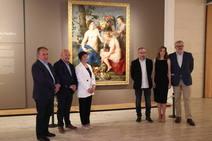 Presentación de la obra de Rubens en el Museo de León