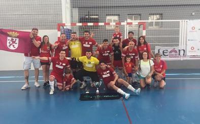 Melón C/Vilken Mañanes y Domotec FS, campeones de España de fútbol sala