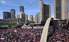 La fiesta de los Raptors en Toronto, empañada por disparos y estampidas