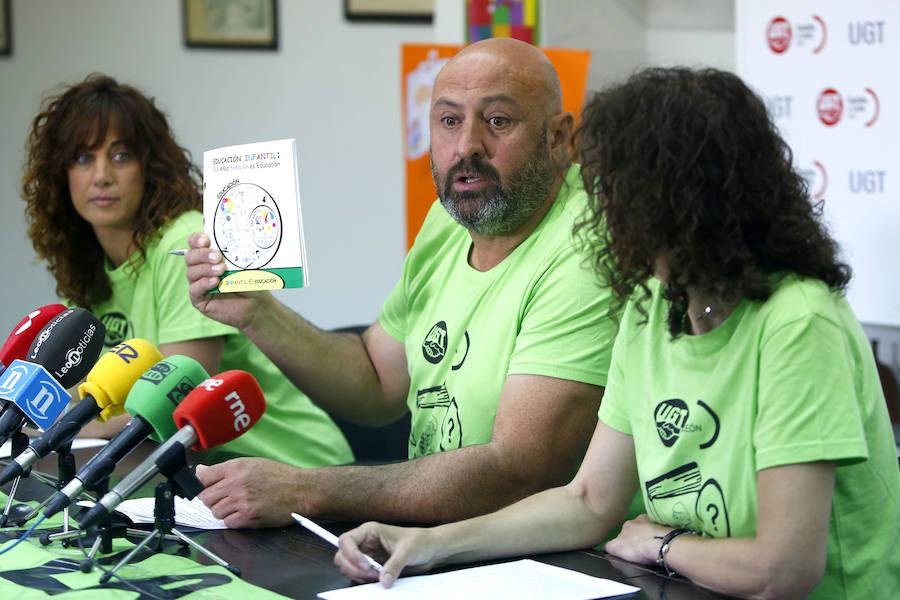 Protesta de las educadoras infantiles de la provincia