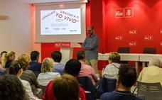 El PSOE de León acoge una charla para animar a la donación de médula