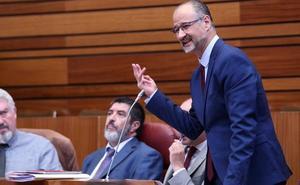 Luis Fuentes: «No sé si contaré con los doce votos de Ciudadanos para presidir las Cortes»