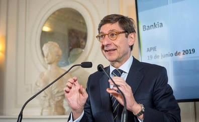 Bankia revisará su objetivo de beneficios si el BCE prolonga los tipos en mínimos