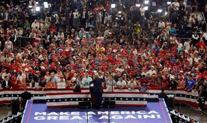 Trump consolida a sus seguidores en torno a su reelección