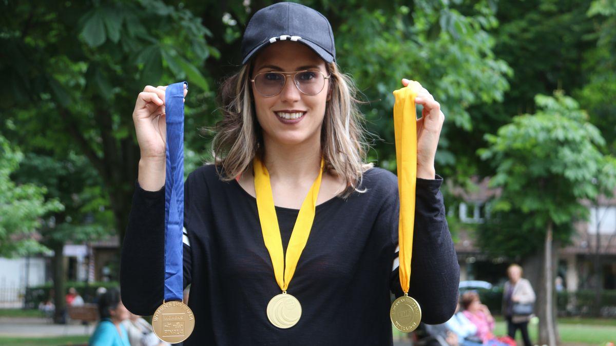 Mireya González, la 'reina' leonesa de Europa