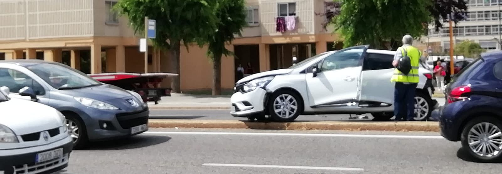 Accidente en la Avenida de Portugal