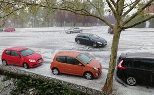 Seis provincias de Castilla y León, en alerta por lluvias y tormentas con granizo