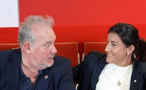 Ana Sánchez y José Francisco Martín, candidatos del PSOE a la Mesa de las Cortes