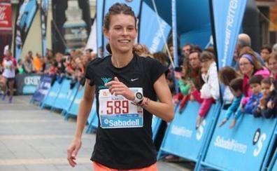 Blanca Fernández: «Sentía que perdía fuerza en la pierna a los 15 minutos de empezar a correr»