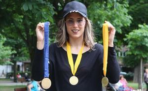Mireya González, la 'reina' de Europa