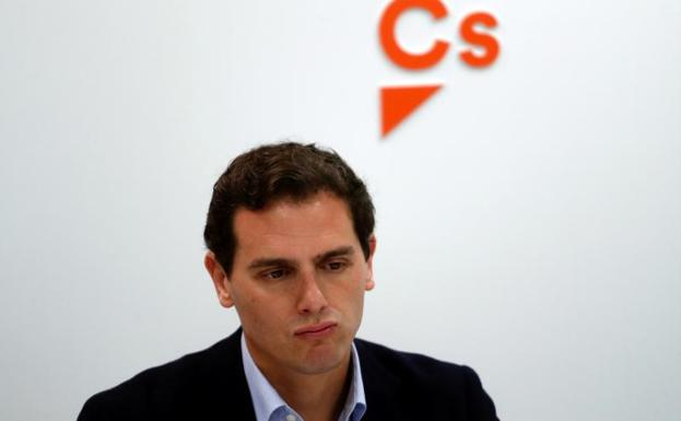 Albert Rivera, líder de Cs.