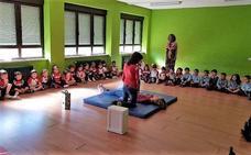 El Colegio Virgen Blanca celebra el Proyecto Primeros Auxilios y Salud