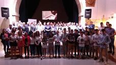 Entrega de premios en el Gala Regional de la Federación de Castilla y León de Balonmano