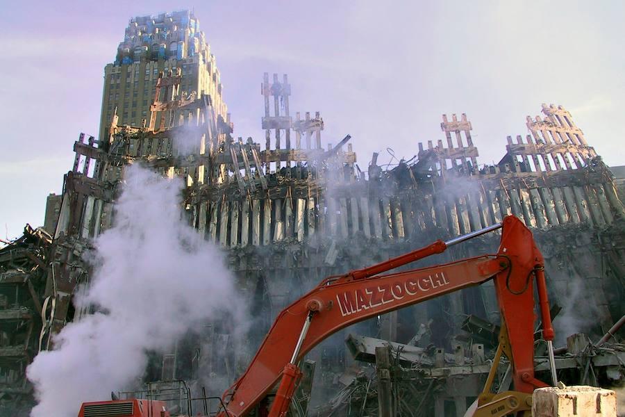 Las fotos inéditas del ataque del 11-S encontradas en un viejo CD