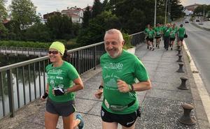 Arranca la gran aventura solidaria de A Santiago contra el cáncer