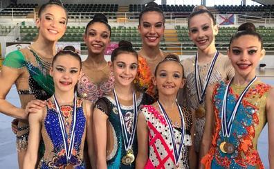 El Club Ritmo suma 17 medallas en en Nacional de Mallorca
