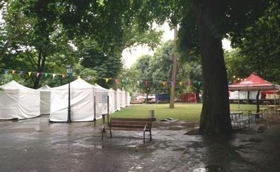 Se suspenden todos los actos del día de San Juan con los conciertos de Bebe y Baiuca pendientes de una tregua de la lluvia