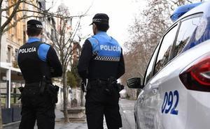 Detenido por agredir a un policía en el barrio vallisoletano de Delicias