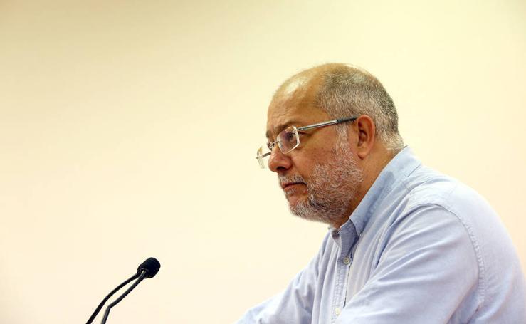 Rueda de prensa de Francisco Igea, líder de Ciudadanos en Castilla y León