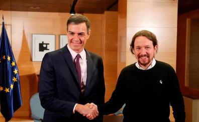 Iglesias avisa a Sánchez de que está dispuesto a votar 'no' a su investidura