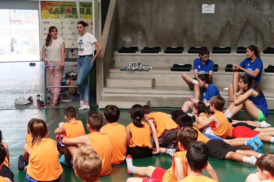 Cerca de 100 niños participan en el primer Campus Deportivo Gigantes del Basket