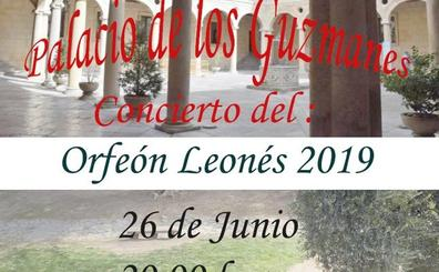 El Orfeón Leonés ofrecerá un concierto en el Palacio de los Guzmanes