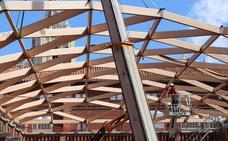 La gran cúpula ya se vislumbra en un Museo de la Semana Santa que será una realidad a finales de año