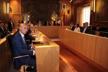 Pleno en la Diputación de León
