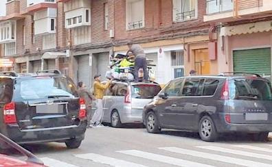 De León a Marruecos: cuando no todo entra en el interior de un coche