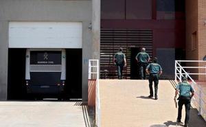 Los presos independentistas completan ya su última etapa de vuelta a Cataluña