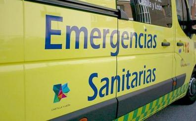 Un motorista herido tras colisionar con un turismo en Ponferrada
