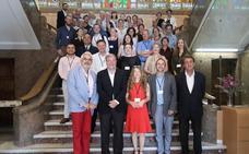 Silván recibe a los defensores universitarios que participan en la Asamblea de la Red Europea ENOHE