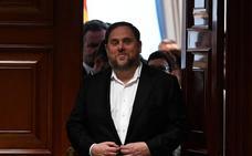 La Fiscalía se opone a preguntar al Tribunal Europeo sobre la inmunidad de Junqueras