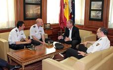 La Policia Nacional de Castilla y León y el Ayuntamiento reafirman la colaboración para mantener la seguridad en León