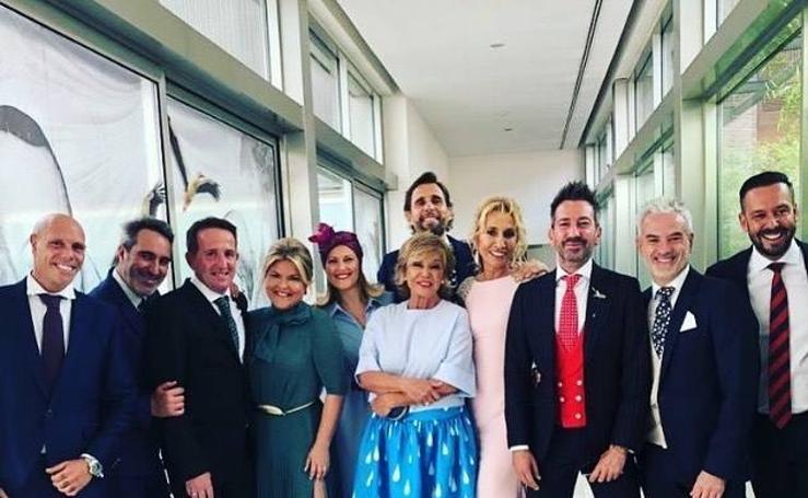 Así fueron vestidos los invitados a la boda de Belén Esteban