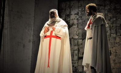 Conde Gatón repone 'Los Templarios' en el Bergidum dentro de los actos de la Noche Templaria