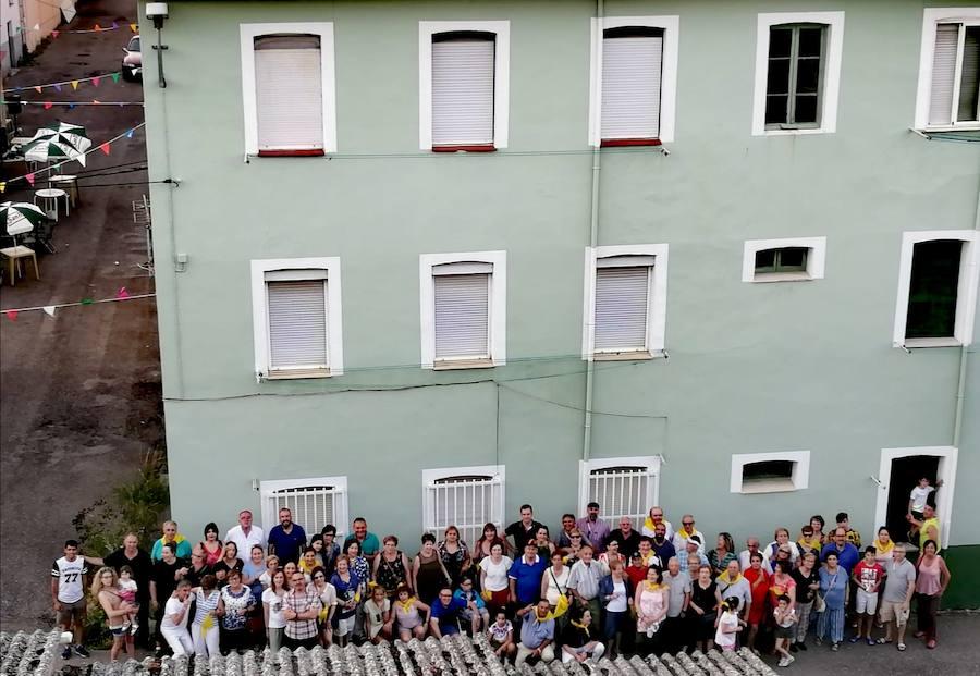 Celebración del centenario de las Casas Nuevas de Santa Lucía de Gordón