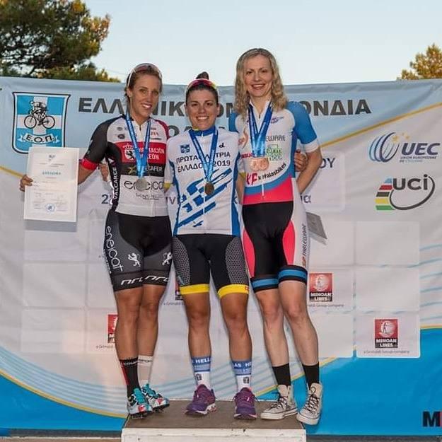 El Eneicat Pecafer, en los campeonatos nacionales de ciclismo