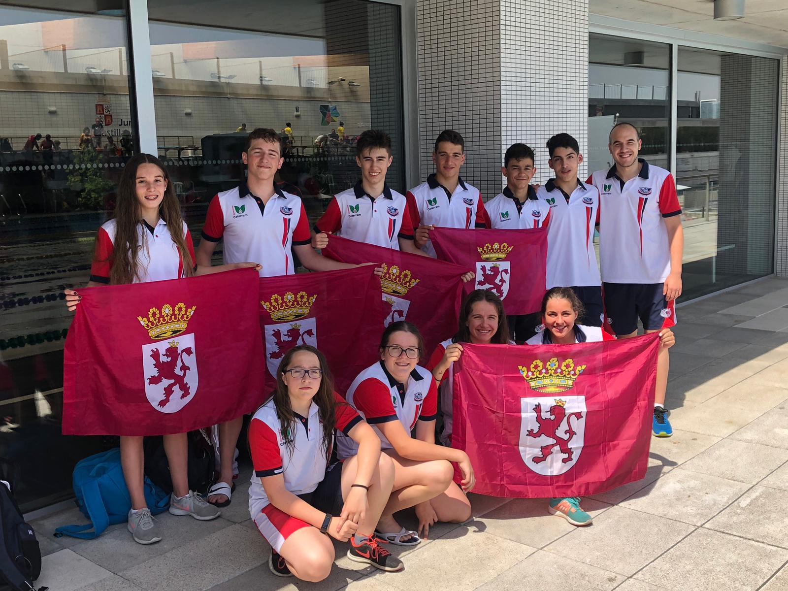 El Club Natación León, séptimo equipo territorial infantil
