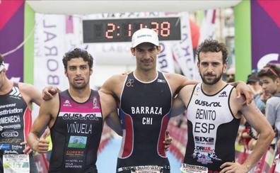 Kevin Viñuela, segundo en el triatlón de San Sebastián