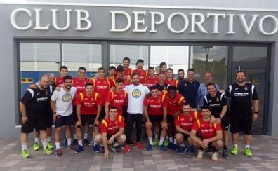 Los Hispanos júnior visitan al Olímpico de León