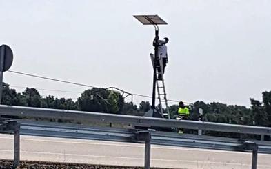 La DGT coloca un nuevo radar de tramo, el tercero en la provincia de León